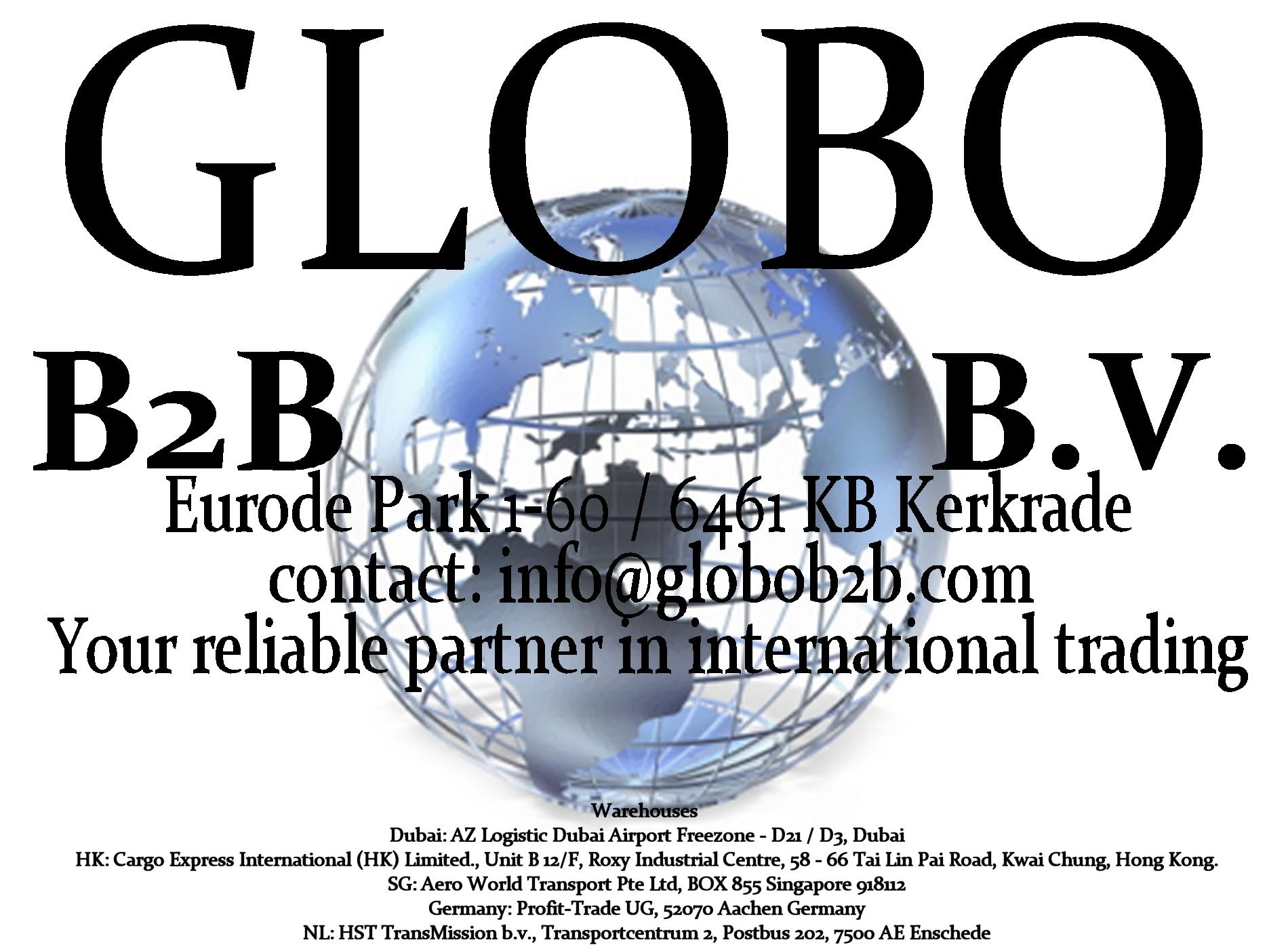 Your reliable partner in international trading - Globo B2B B.V.
